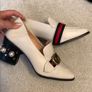 Gucci heels shoes
